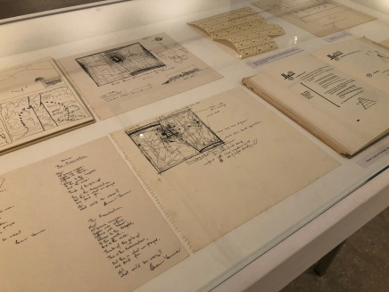 Edwin Tanner's notes and sketches